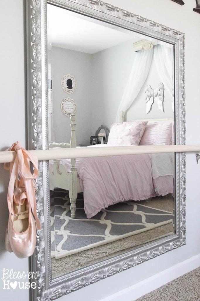 Ballerina Girl Bedroom Makeover Reveal