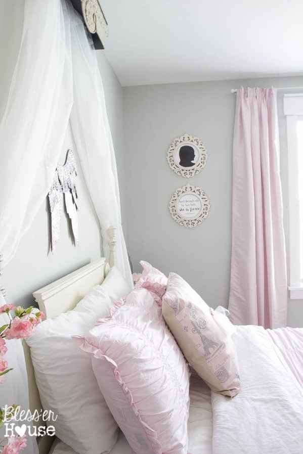 Ballerina Girl Bedroom Makeover Reveal | Bless'er House - Such a sweet space on a budget!