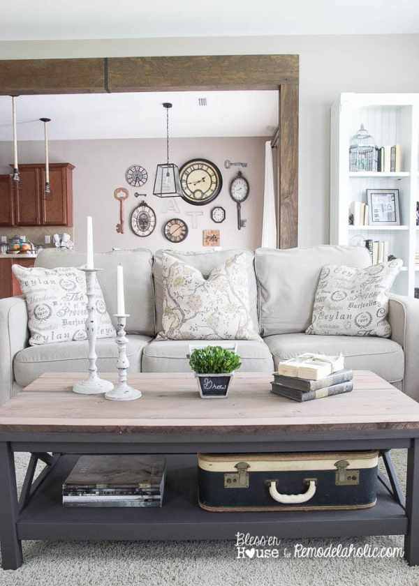 7 Ingredients to Create a Cozy Space | www.blesserhouse.com | wood beam