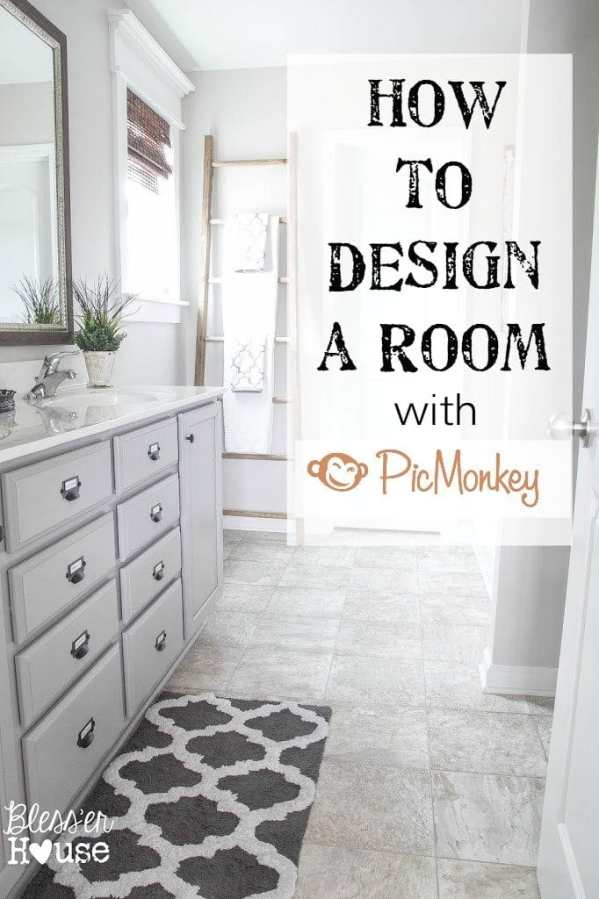 How to Design an Entire Room Using Picmonkey | Bless'er House