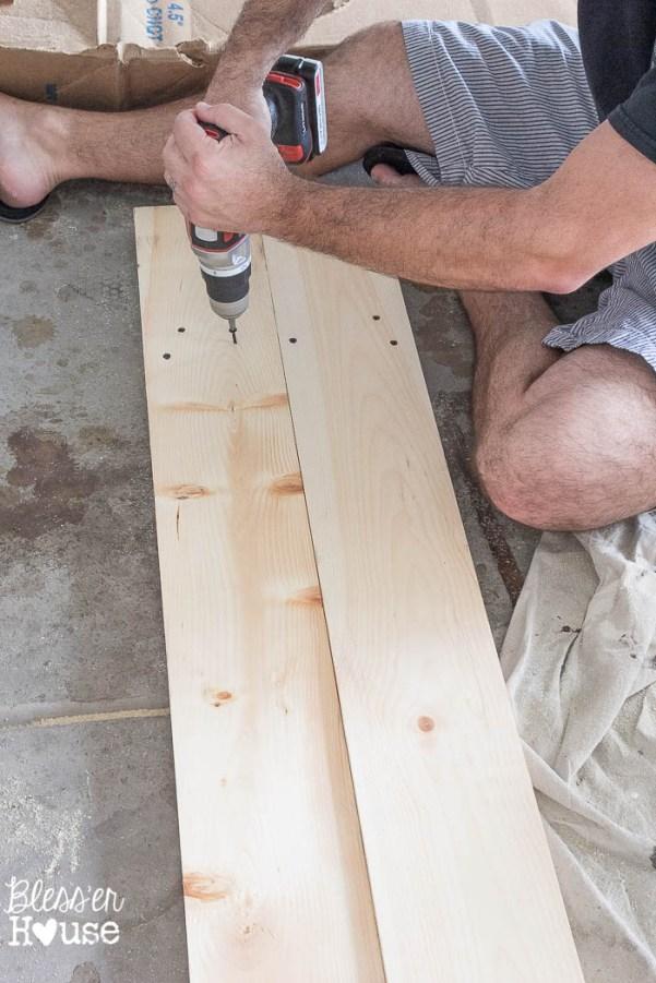 DIY Board and Batten Shutters | Bless'er House