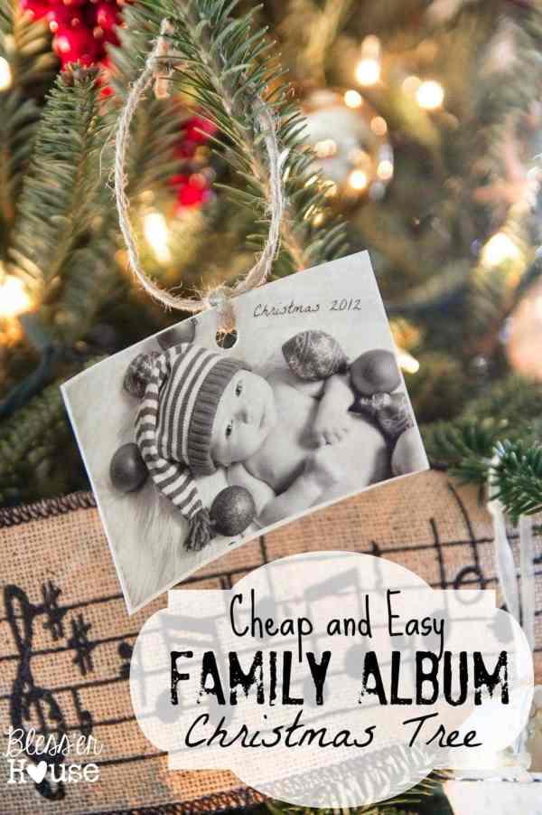 Family Album Christmas Tree - Southern Christmas Cheer Series | blesserhouse.com