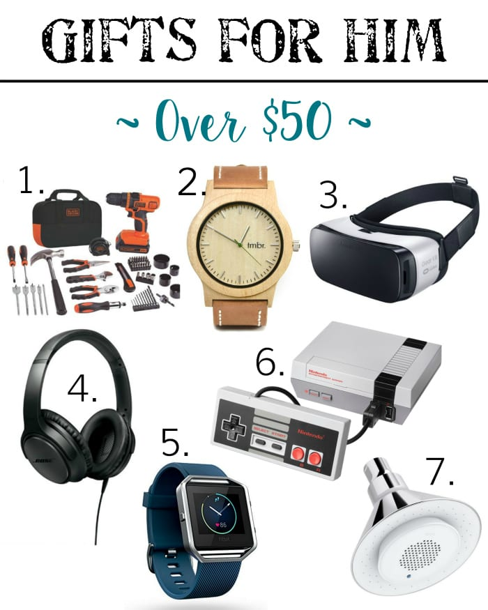 Holiday Gift Guide - Gifts for Him Over $50 | blesserhouse.com - Gift ideas for men and women of all ages for all budgets plus a $300+ giveaway!