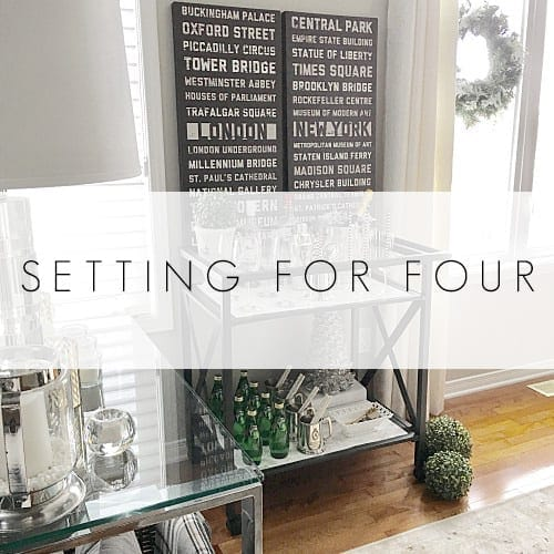 SETTING FOR FOUR DINING ROOM1
