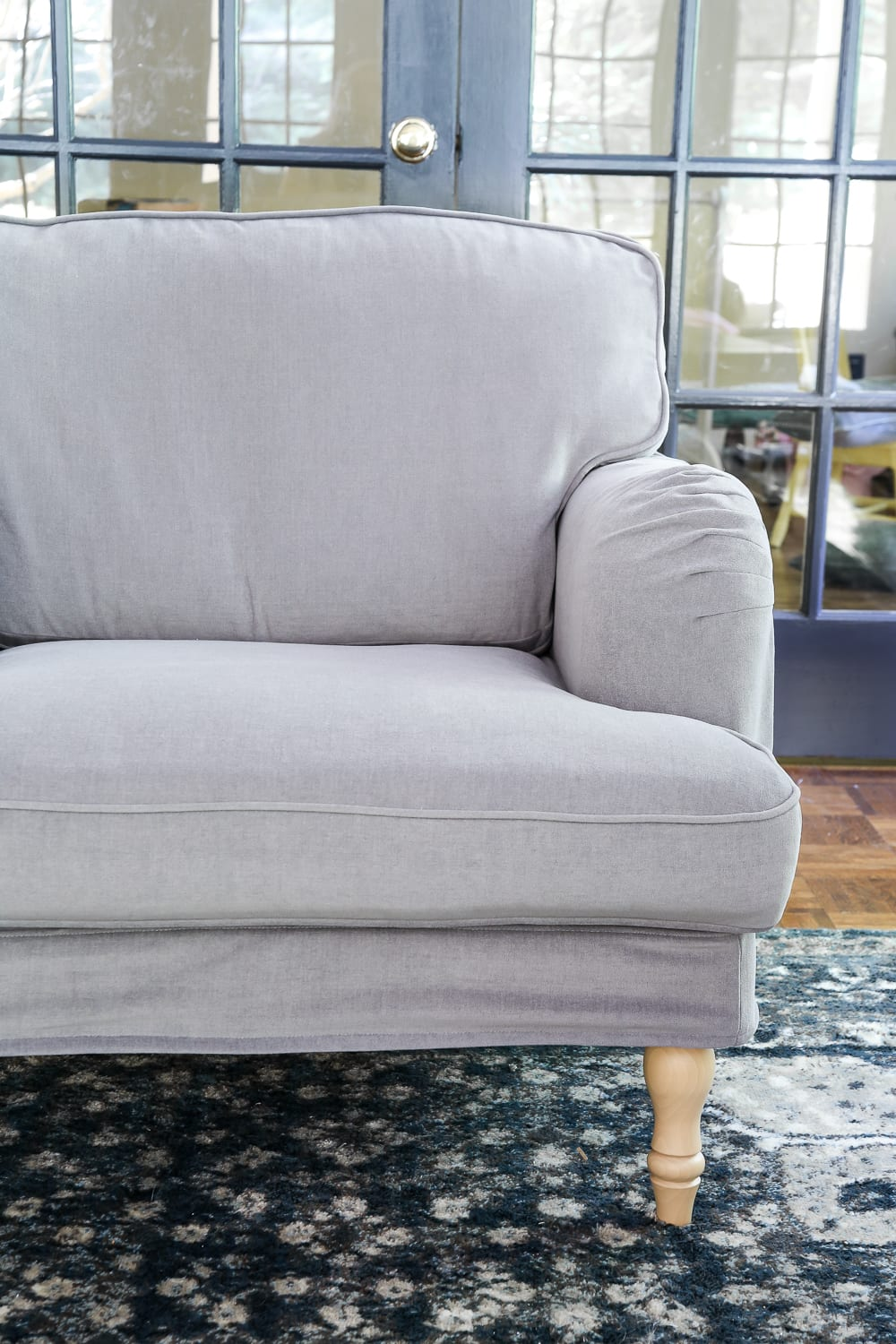 Living room, dining room, home. IKEA's New Sofa and Chairs and How to Keep Them Clean ...