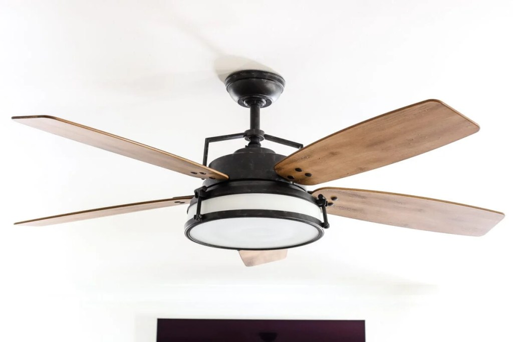 Living Room Update Ceiling Fan Swap Bless Er House