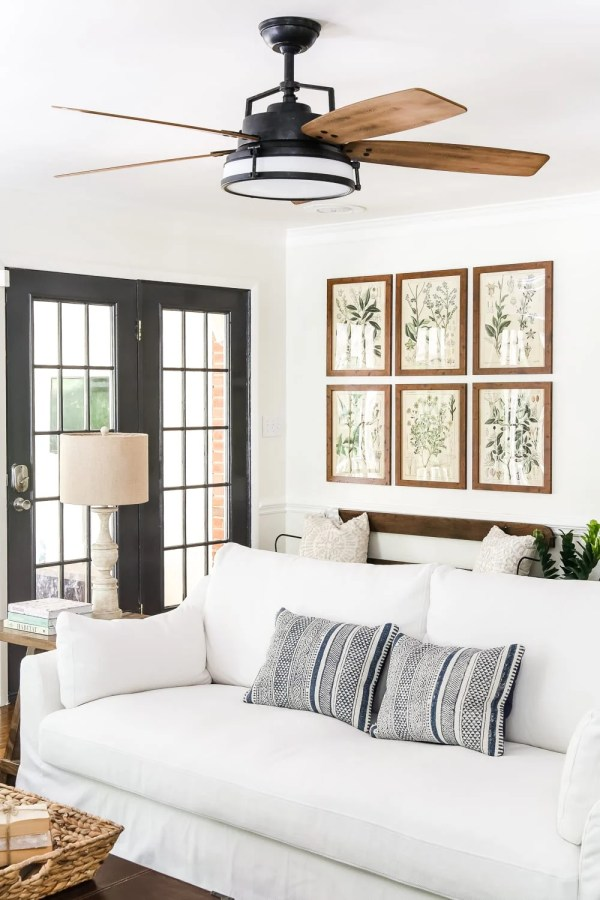 Modern French Farmhouse Summer Home Tour   blesserhouse.com - A summer home tour with modern French farmhouse style using inexpensive decorating tricks and ways to stretch your dollar to look luxe on a budget, plus 8 more tours of gorgeous homes styled for summer!