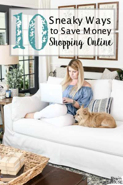 10 Sneaky Ways to Save Money Shopping Online | blesserhouse.com - 10 tricks to save money shopping online like how to get cash back on every purchase, how to combine sales with coupons, and how to stack loyalty points.