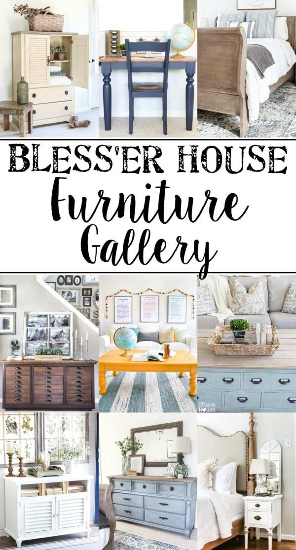 Beginner's Guide to Painting Furniture | blesserhouse.com - All of the tips and tricks you need to prep and paint furniture and add unique finishes, plus secrets to buying furniture on Craigslist and at thrift stores