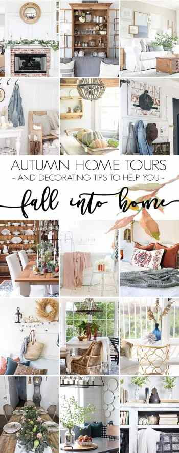 8 Fall Decorating Tips on a Budget + Fall Home Tour 2017 | blesserhouse.com - 8 fall decorating tips for a small budget with ways to shop smart in clearance aisles and thrift stores + a full autumn home tour.