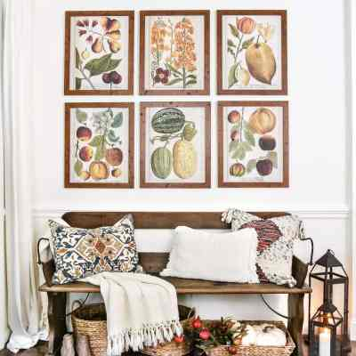 Fall Botany Art Gallery Wall Printables