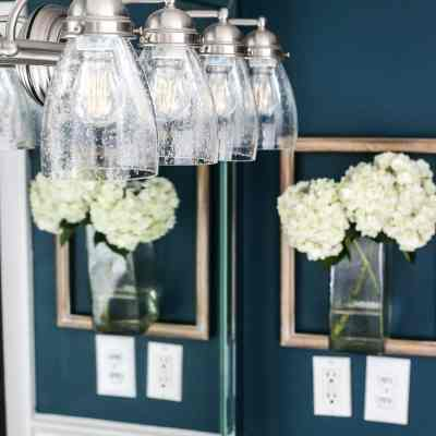 The Easiest Way to Refresh a Light Fixture