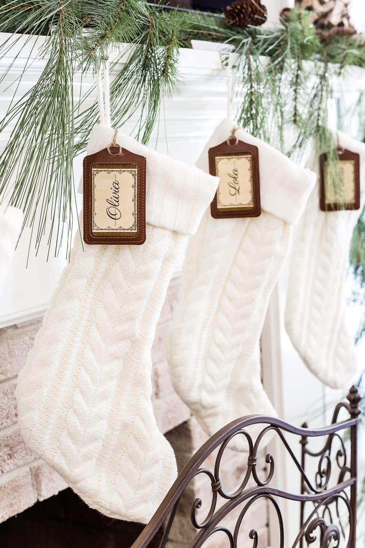 Custom Stocking Tags