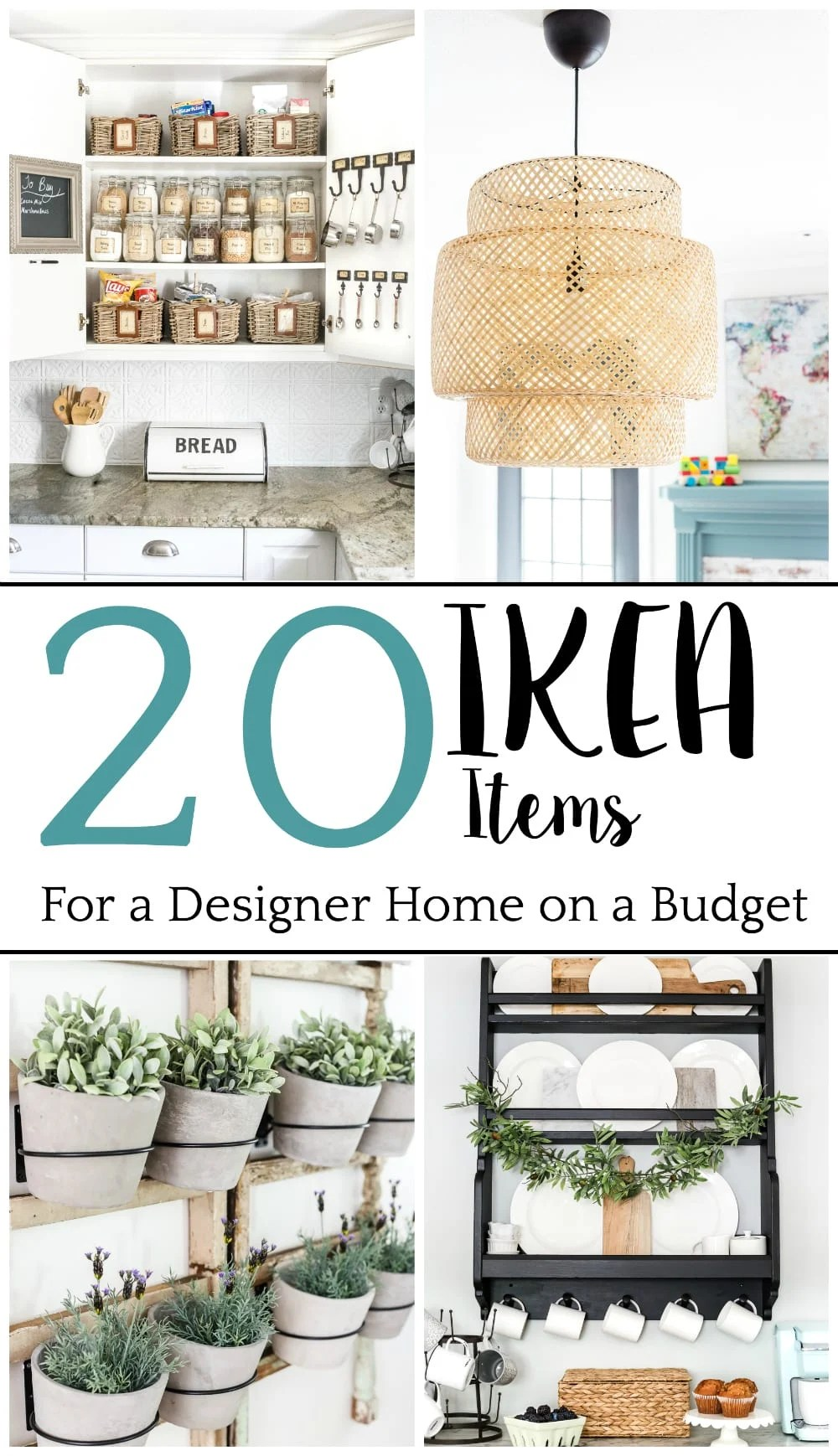 Top 10 Home and DIY Blog Posts of 2018 | 20 IKEA Items for a Designer Home on a Budget