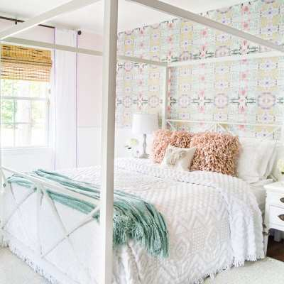 Little Girl Butterfly Bedroom Makeover Reveal