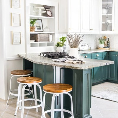 Budget Kitchen Refresh Makeover Reveal