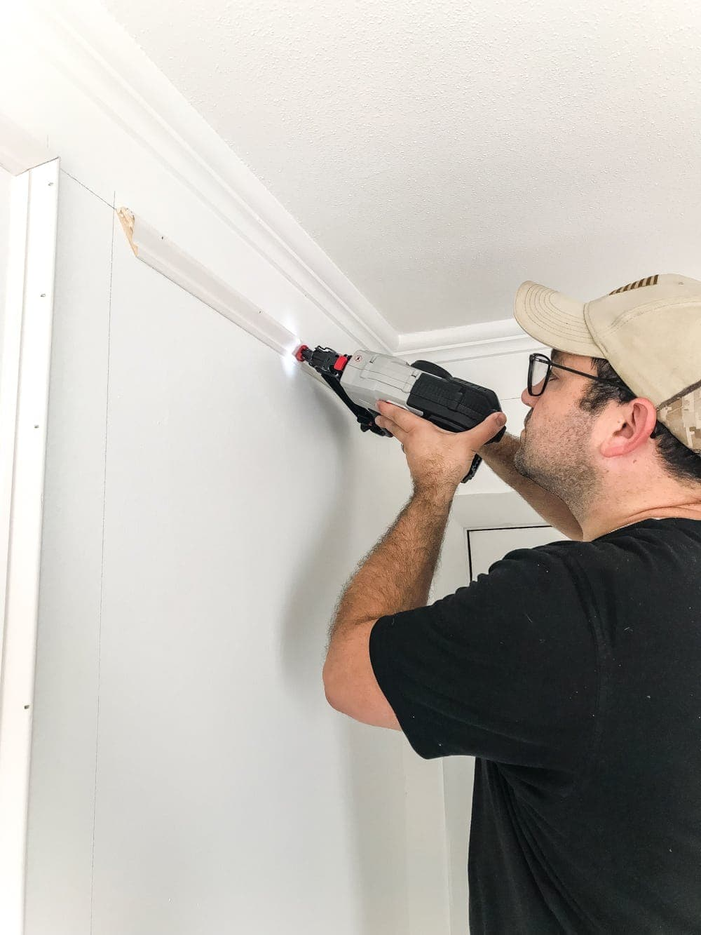 brad nailer for attaching picture frame molding
