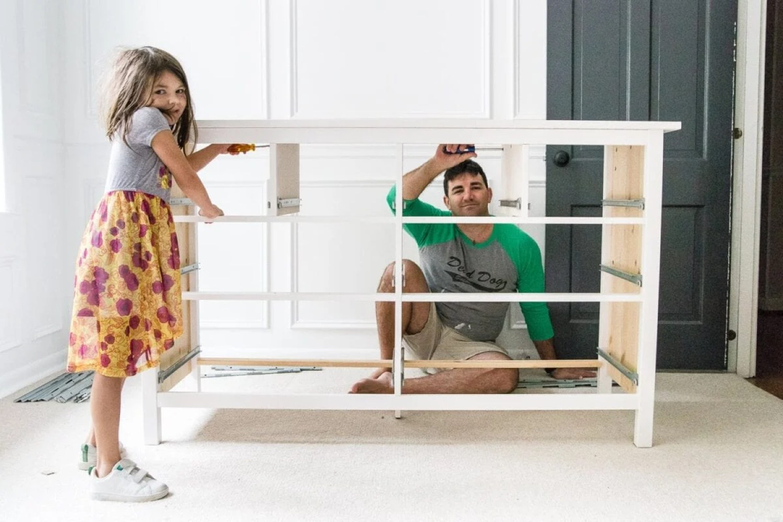 Building an IKEA Hemnes dresser
