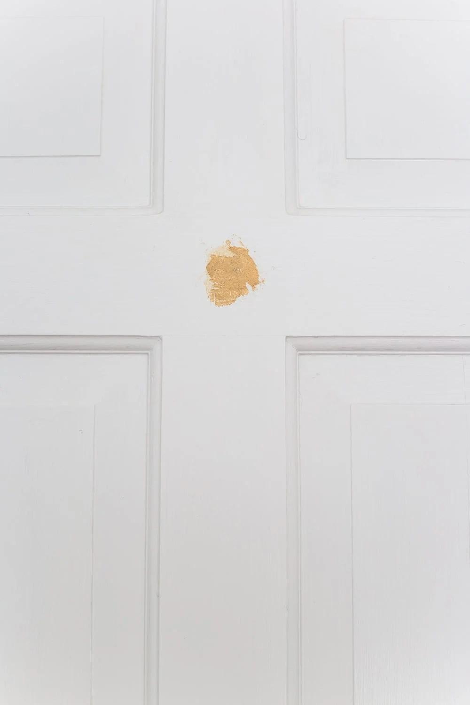 wood filler before painting interior doors