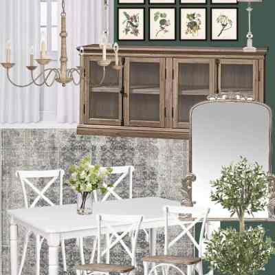 Mood Board Monday: Dining Rooms Designs Under $1700
