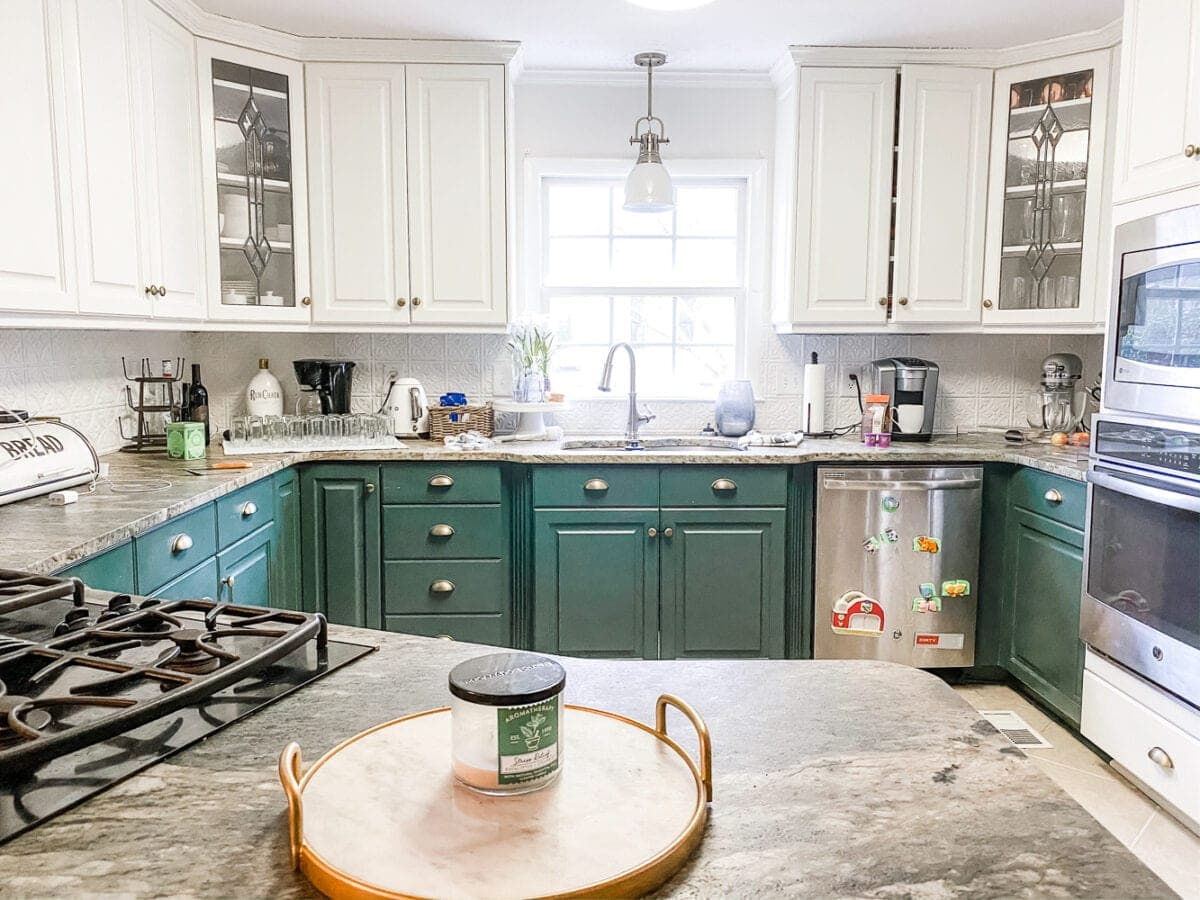 Simplified Decorating: How to Decorate Kitchen Countertops ... on Kitchen Counter Decor  id=34779