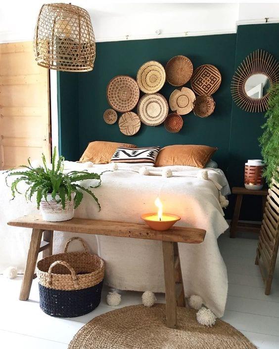 DIY Wall Decor Ideas | baskets
