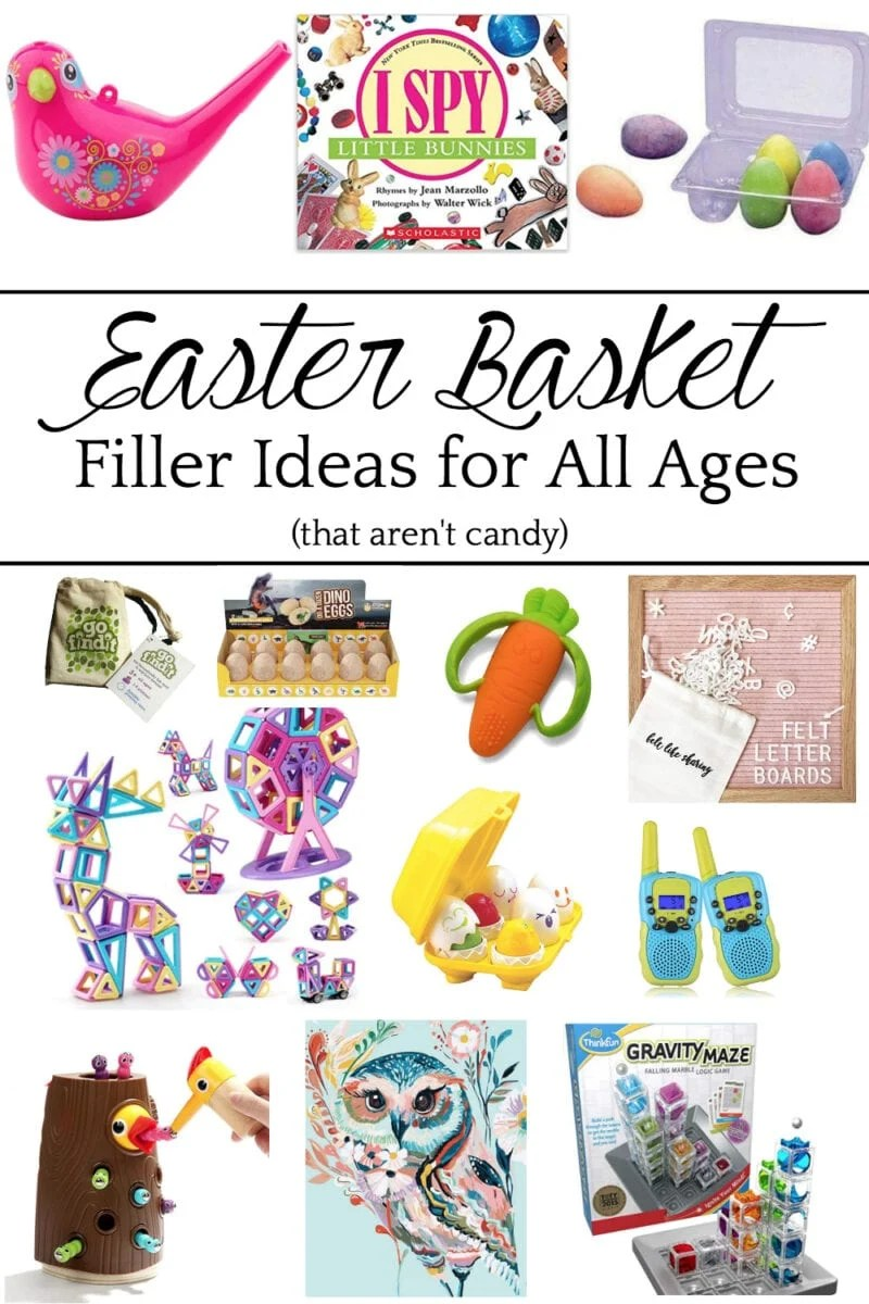 Easter Basket Ideas with Fillers for All Ages Babies - Teens