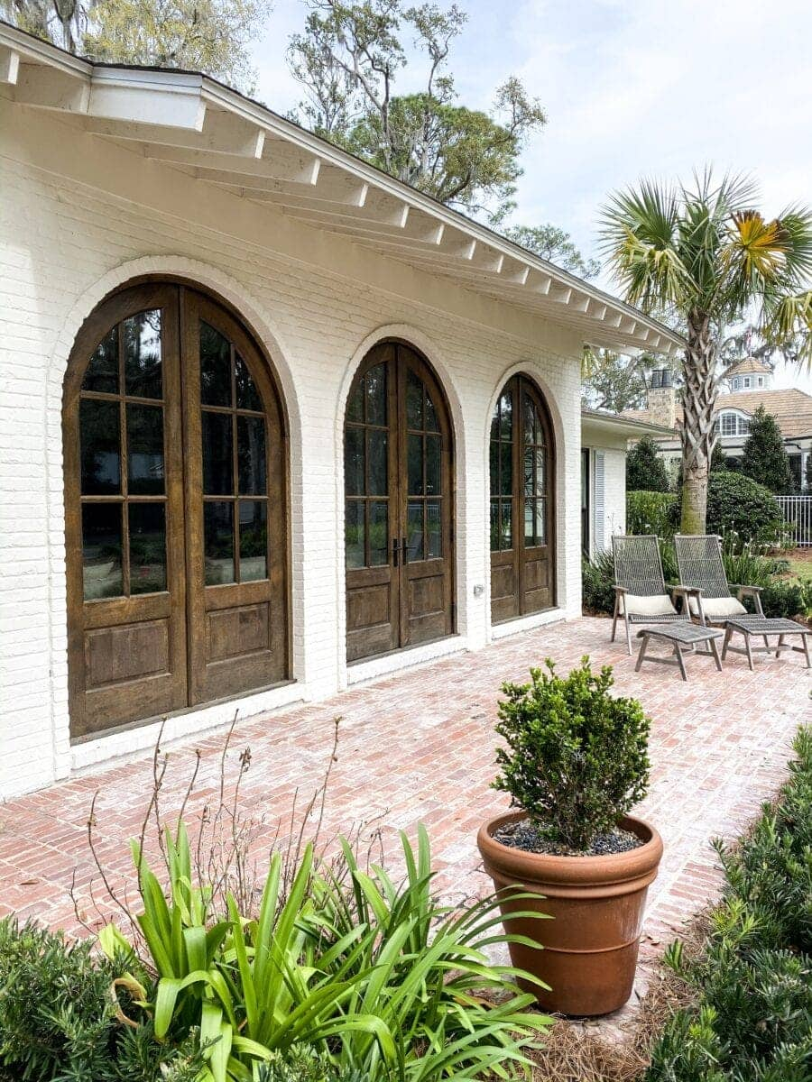 Sea Island Coastal House Tour | porch