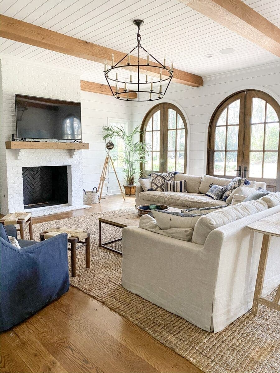 Sea Island Coastal House Tour | living room