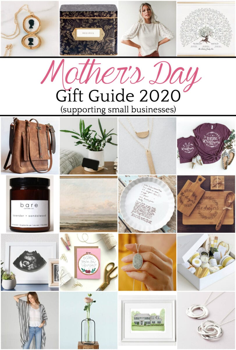 Mother's Day Gift Guide 2020 Supporting Small Businesses