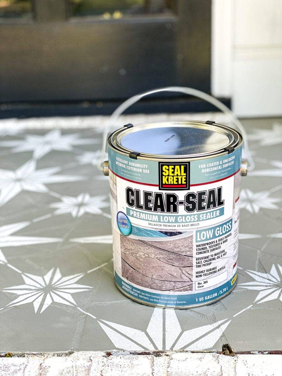 The best sealer for patio and porch paint
