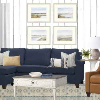 Coastal Living Room Mood Board & Our Next BIG Project!