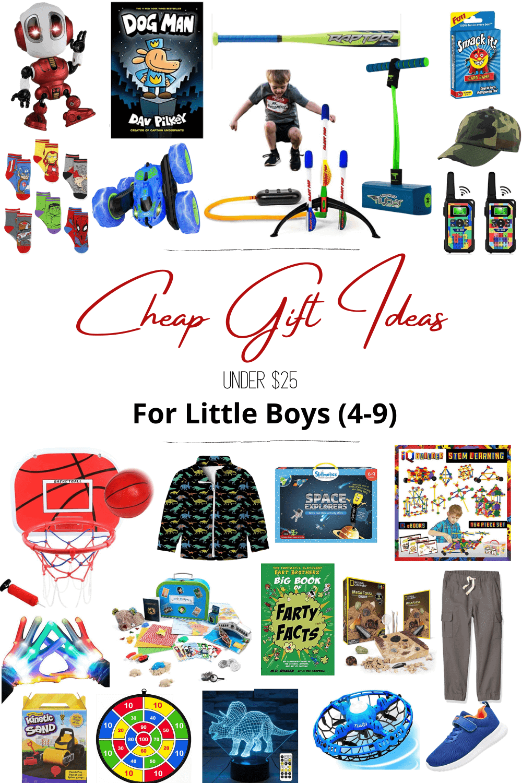 cheap gift ideas for little boys