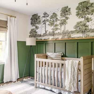 Woodland Baby Boy Nursery Makeover