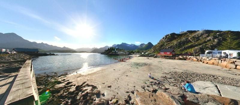 Panoramabilder der Lofoten
