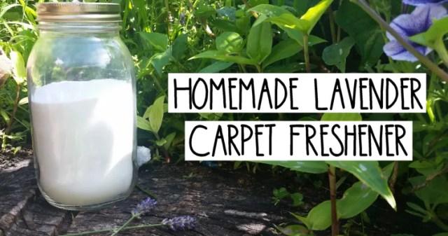 Hearth Magic: Homemade Carpet Freshener