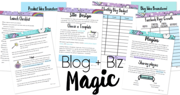 blog + biz magic