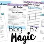 blog + biz magic
