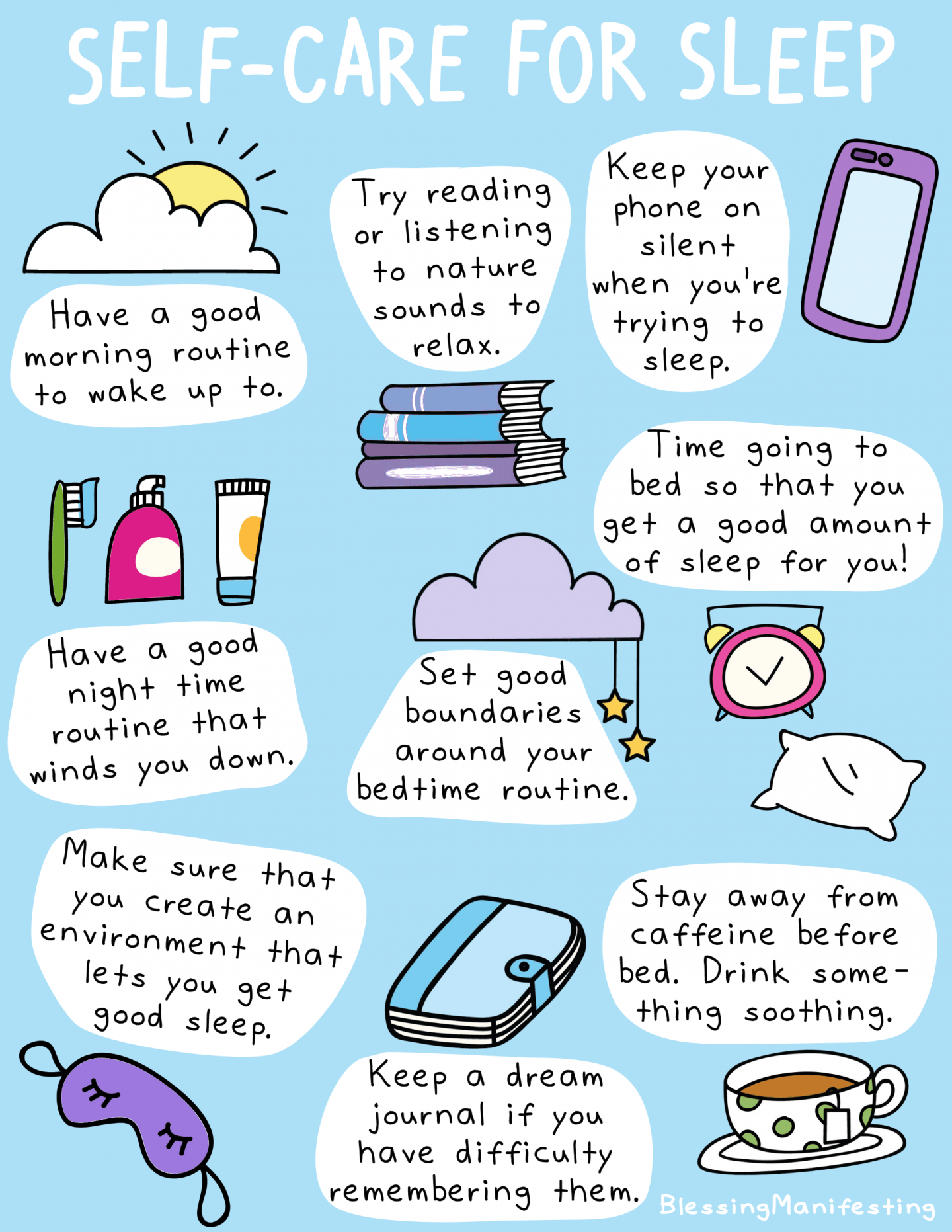 Evening Self Care Routine