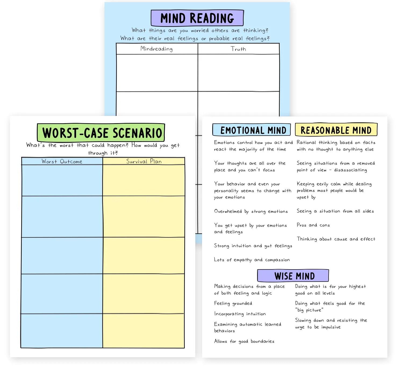 Breathe An Anxiety Workbook