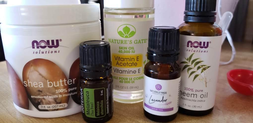 ingredients for diy psoriasis balm