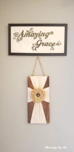 Farmhouse Style Amazing Grace Sign