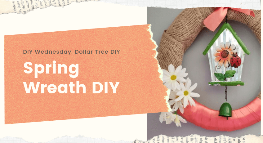 Spring Wreath DIY