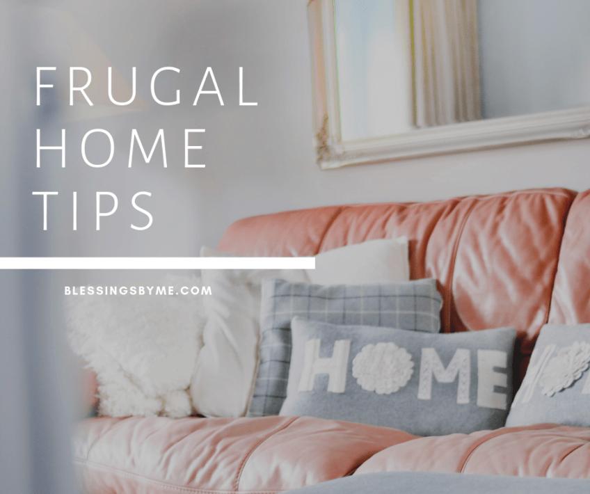 Frugal Living Tips - Home