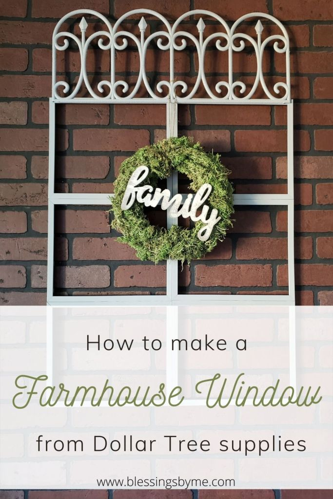 Farmhouse window
