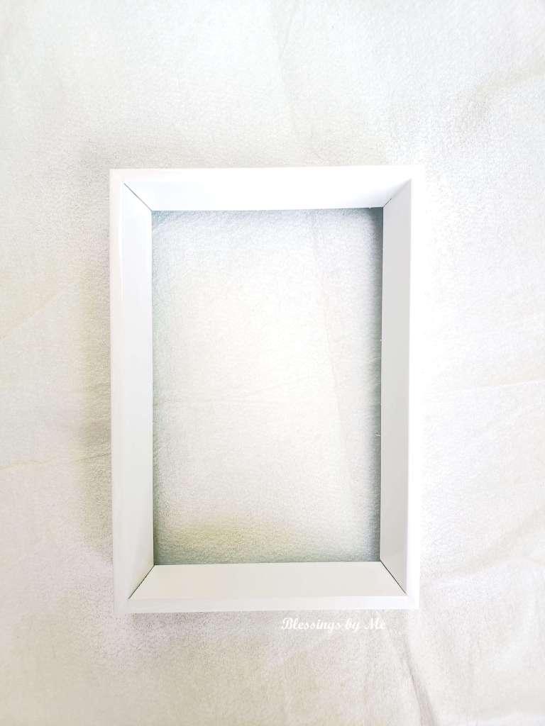 Spray paint the frame