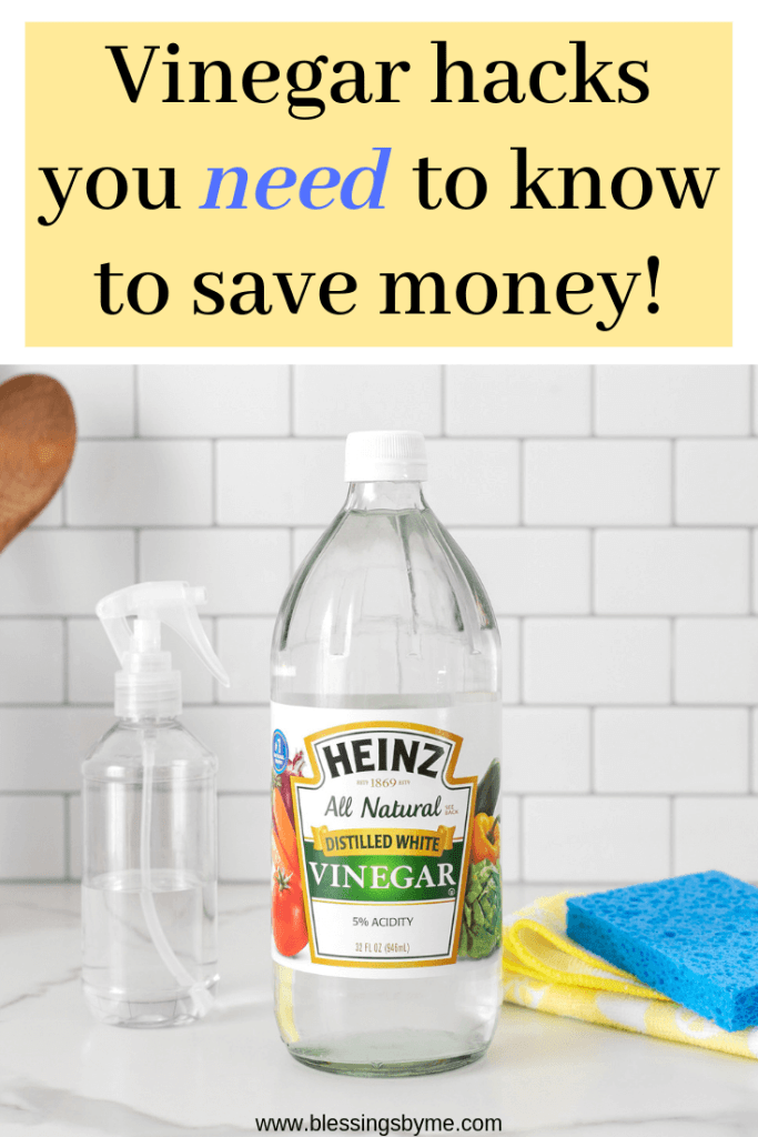 Vinegar hacks you need to know to save money