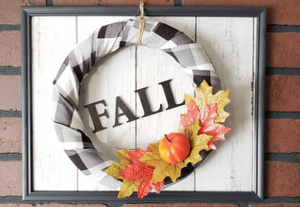 Farmhouse Fall Wreath
