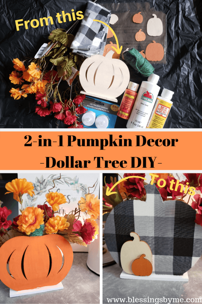 2-in1 Pumpkin Decor