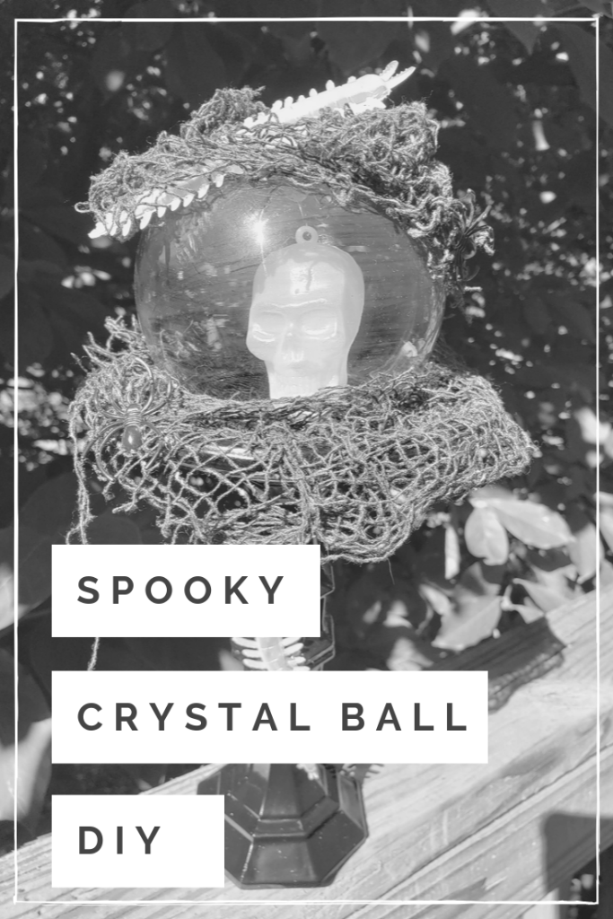Spooky Crystal Ball Pin